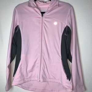 Champion pink zip up